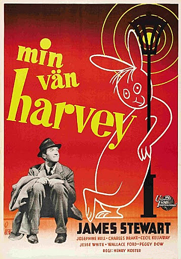 el invisible harvey, juan harpo, hünter art magazine, cine clásica,