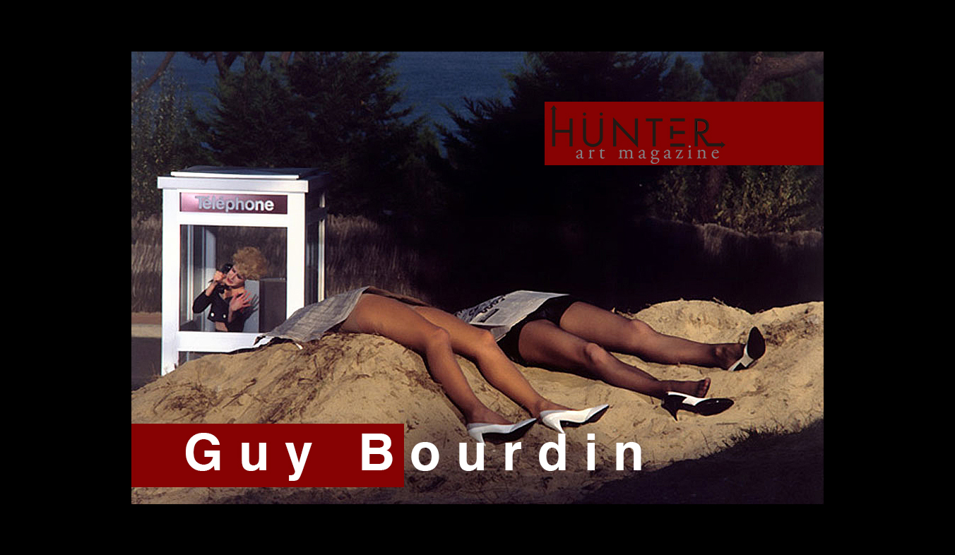 guy bourdin, samuel bourdin, pepe calvo, hunter art magazine,