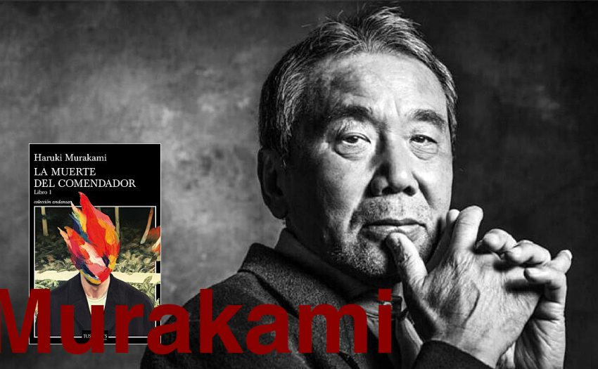 Haruki Murakami, Hunter art magazine, pepe calvo,