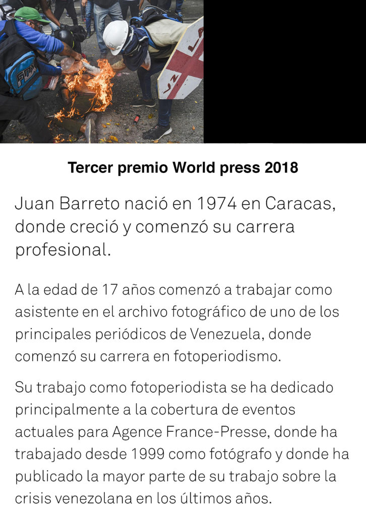 World press 2018, Hünter art magazine, Pepe Calvo,