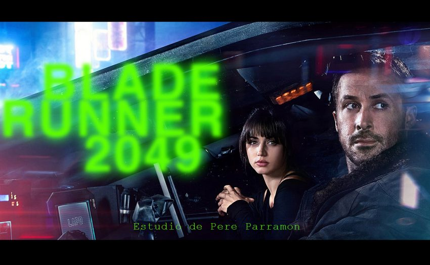 Blade Runner 2049, Pere Parramon, Pepe Calvo, Hunter art magazine,