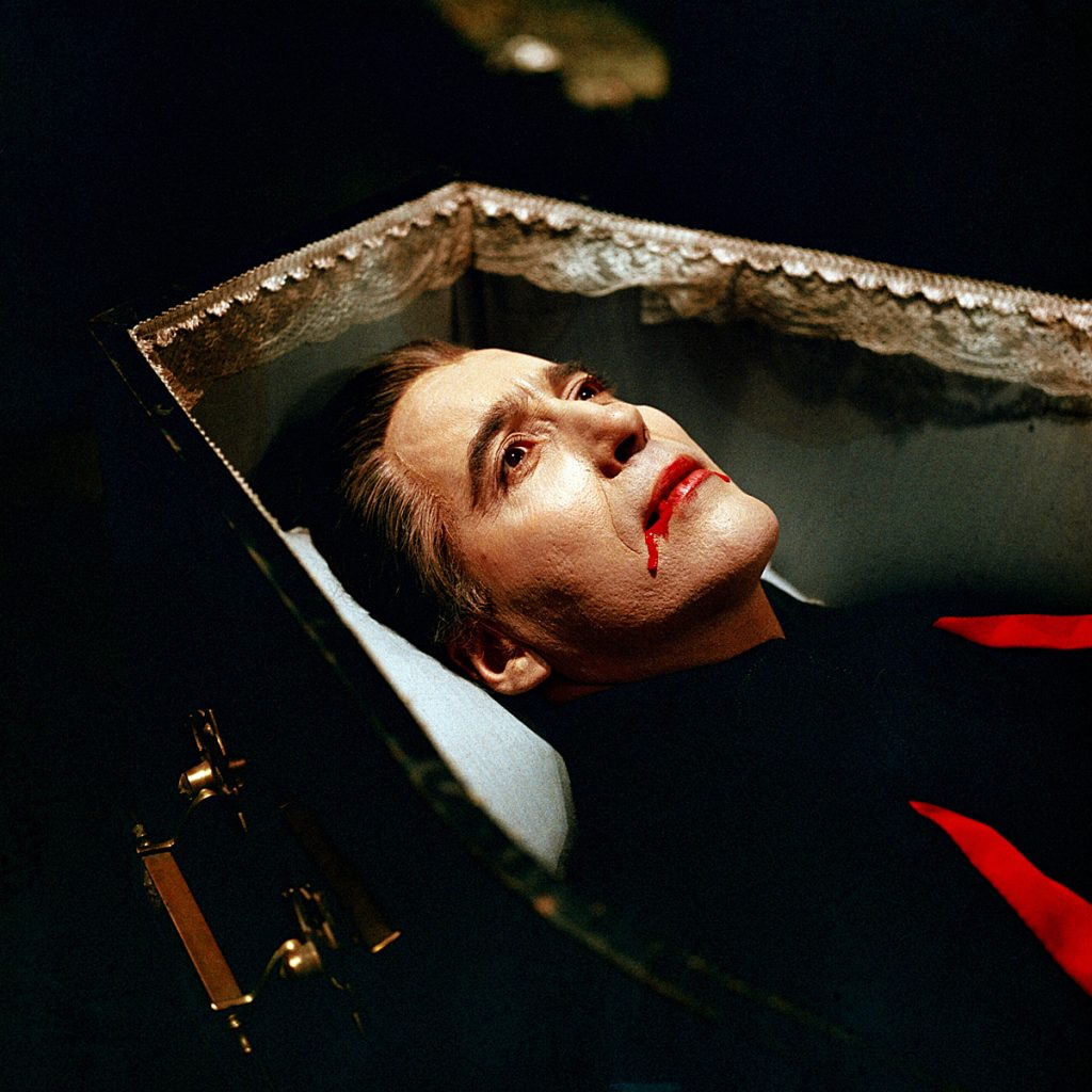 horror of dracula, Christopher Lee, Hammer Productions, James Carreras, hunter art magazine, Dr Jekill and sister Hyde,